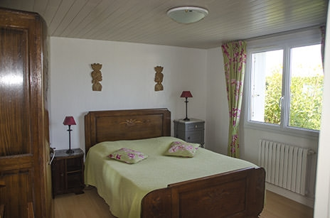Ouessant chambre hote charme - chambre nord
